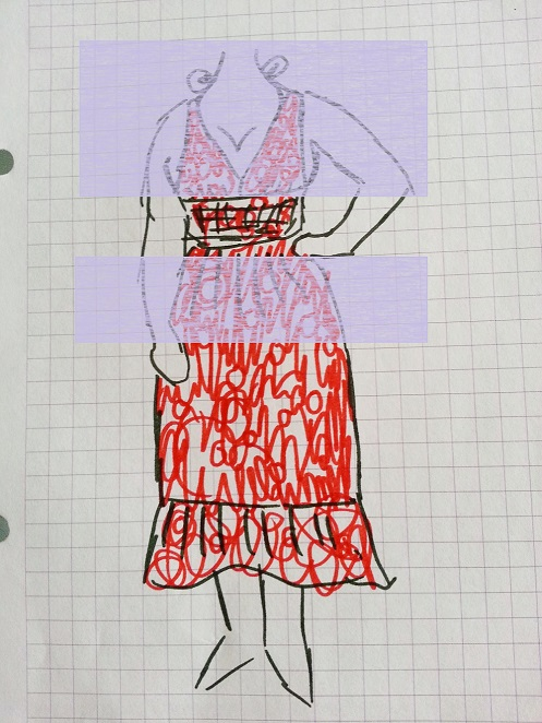 polka dot dress alteration (3)