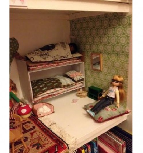 Lottie doll bedroom