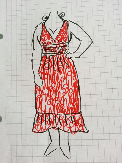 polka dot dress alteration (1)
